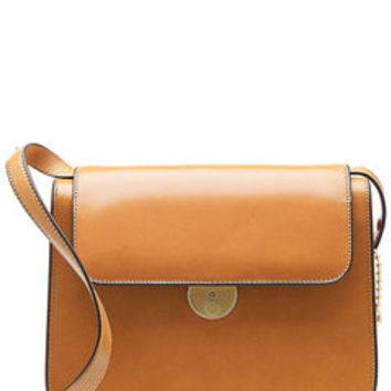 Leather Shoulder Bag - Maison Margiela | WOMEN | US STYLEBOP.com