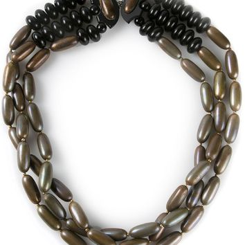 Yves Saint Laurent Vintage triple strand necklace
