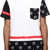 Asphalt Yacht Club Roman Stars Pocket T-Shirt