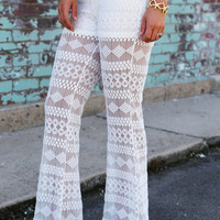 Destin Crochet Pants