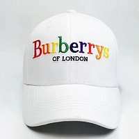 Perfect Burberry  Fashion Casual Hat Cap