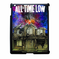 Pierce The Veil Band All Time Low Poster Galaxy Parody iPad 3 Case