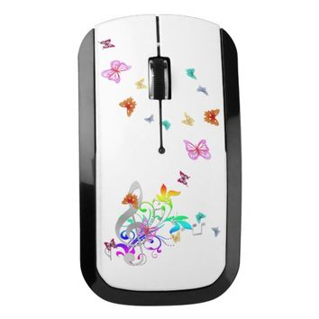 Color of Music Wireless Mouse