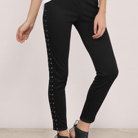 Harley Lace Up Pants
