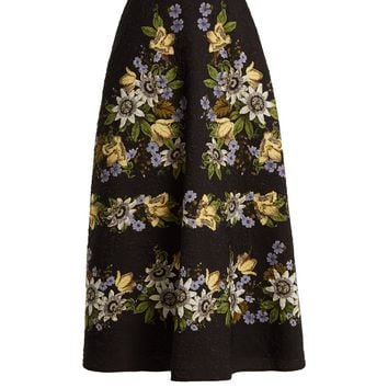 Tiana matelassé A-line skirt | Erdem | MATCHESFASHION.COM UK