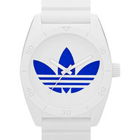 adidas Watch, White Polyurethane Strap 42mm ADH2704 - All Watches - Jewelry & Watches - Macy's