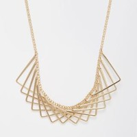 New Look | New Look Geometric Overlapping Necklace at ASOS