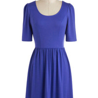 Pick of the Licorice Dress in Blueberry | Mod Retro Vintage Dresses | ModCloth.com