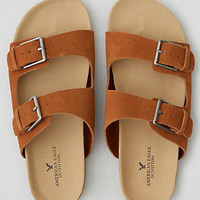 AEO Double Buckle Sandals , Tan