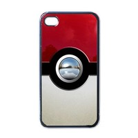 New Pokemon Ball Pokeball Apple iPhone 4 Case (Black)