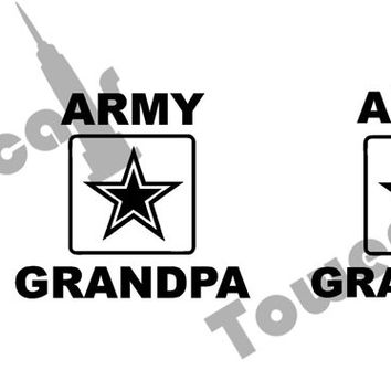 Family Support United States Army – Military Vinyl Decal