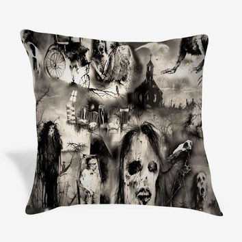 Scary Stories Large Makeup Pillow Case