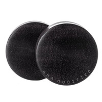"Black Wood Plugs (3mm-2"")"