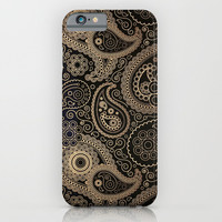 TRIBAL DREAM ( Black ) - for iphone iPhone & iPod Case by Simone Morana Cyla