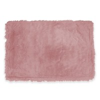 Fun Rugs Flokati Rug in Light Pink