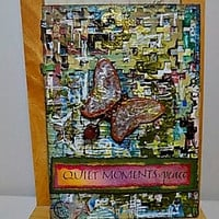 Quiet Moments Mixed Media Canvas Board. Ready to Ship