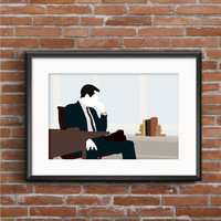 Mad Men Poster - Don Draper Print