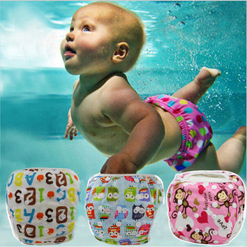 Reusable Adjustable Swimming Diapers
