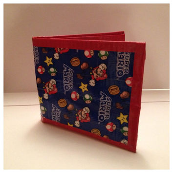 Super Mario Duct Tape Wallet