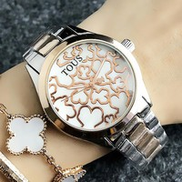 TOUS New fashion dial more bear women watch