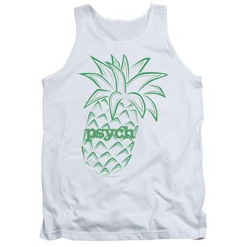 Psych - Pineapple Adult Tank Top Officially Licensed Apparel