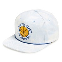 Men's Mitchell & Ness 'Golden State Warriors' Acid Wash Snapback Hat