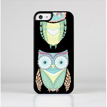 The Crazy Cartoon Owls Skin-Sert Case for the Apple iPhone 5c