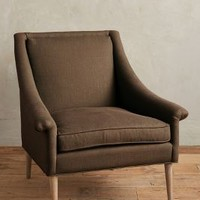 Linen Tillie Armchair by Anthropologie