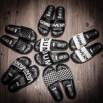 Vans:   Your favorite summer slippers