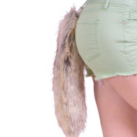 Arctic Fox Faux fur Tail