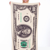 DOLLAR BILLION BEACH TOWEL