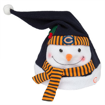 Chicago Bears - Animated Snowman Musical Stocking Hat