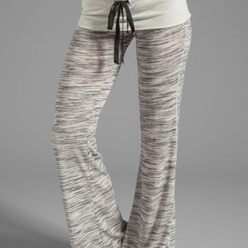 Tylie Space Dyed Pant in White from REVOLVEclothing.com