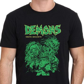 Demons 80's Horror Movie T Shirt