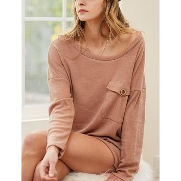 Exceptional You Taupe Top