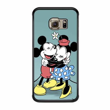 Mickey And Minnie Mouse Vintage Samsung Galaxy S6 Edge Case