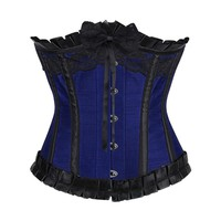 Carol Burlesque Authentic Underbust Corset NS-1452