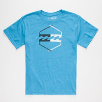 Billabong Axis Boys T-Shirt Electric Blue  In Sizes