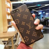 Luxury brand printed matte phone case for iPhoneX 8 7 6S 6plus TPU soft cover for iPhone8plus