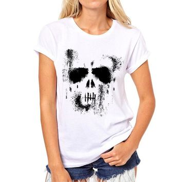 Skull Comfortable and Breathable T-Shirt