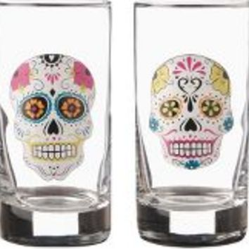 Paper Source Sugar Skull Glasses