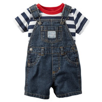 Carter's 2-pc. Shortall Set Baby Boys - JCPenney