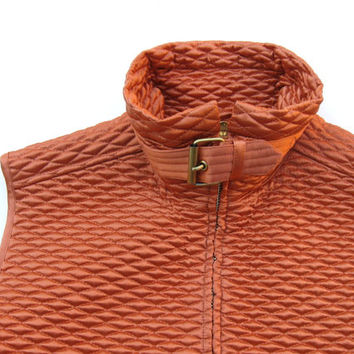 Vintage Dana Buchman Quilted Vest, Women's Clothing, Outerwear