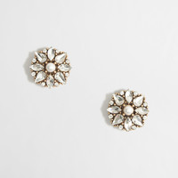 Factory pearl burst earrings : Earrings | J.Crew Factory