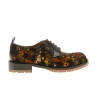 Valentino Online Boutique - Valentino Women Lace Ups With Feathers