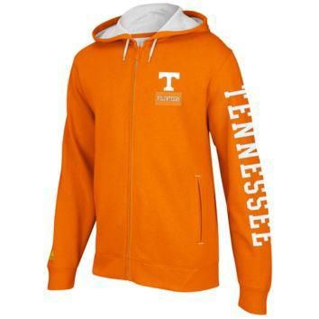 adidas Tennessee Volunteers Pride Full Zip Hoodie Sweatshirt - Tennessee Orange