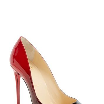"Women's Christian Louboutin 'Pigalle Follies' Degrade Pointy Toe Pump, 4"" heel"