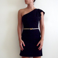 $89 One Shoulder Dress  Made to measure by onor on Etsy