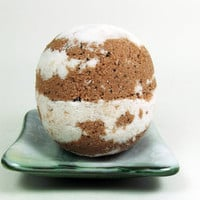 Bath Bomb Coffee Vanilla Large 6oz Organic Coffee