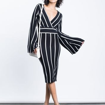 Camila Striped Bodycon Dress